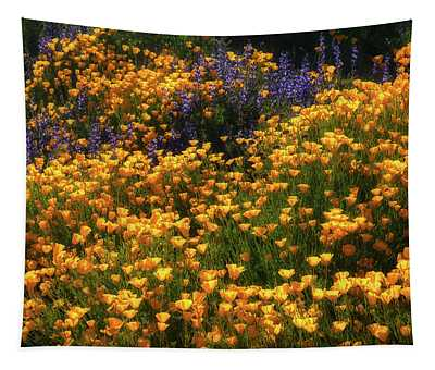 Color Explosion Tapestry