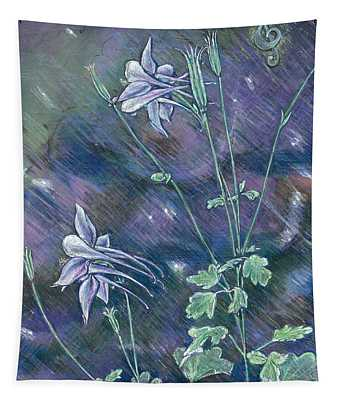 Columbine Song Tapestry