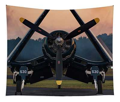 Corsair At Dusk Tapestry