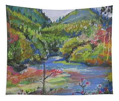 Country River Tapestry