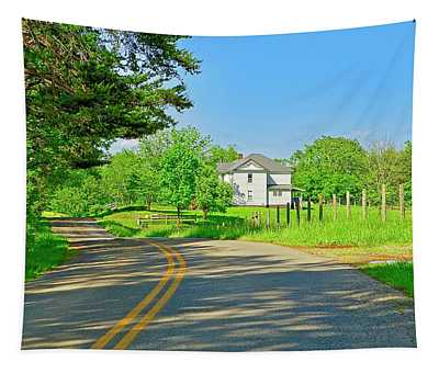 Country Roads Of America, Smith Mountain Lake, Va. Tapestry
