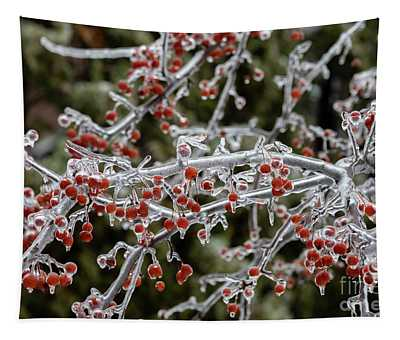 Crab Apple Tree Tapestry