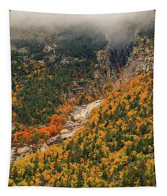 Crawford Notch Fall Foliage Tapestry
