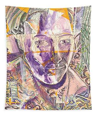 Cut Portrait Tapestry