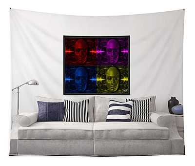Cyliner-pop-of-4 Tapestry