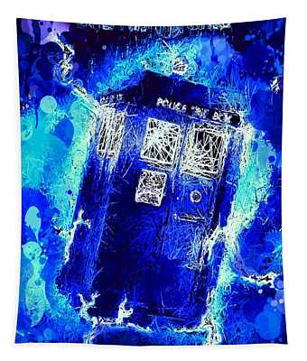 Doctor Who Tardis Tapestry