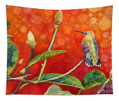 Dreamy Hummer Tapestry