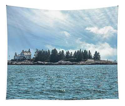 Egg Rock Lighthouse Acadia National Park Tapestry