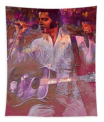 Elvis Is A Punk Tapestry