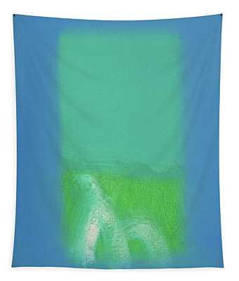 Field Of Green Tapestry