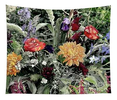 Floral Dream Of August Tapestry
