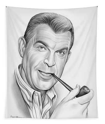 Fred Macmurray Tapestry