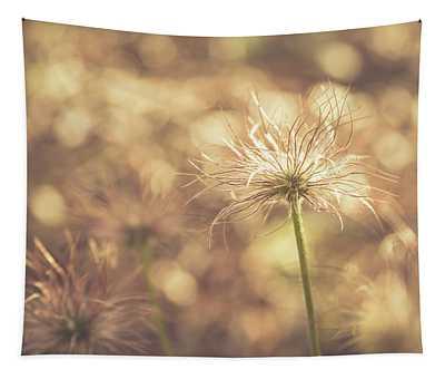 Fuzzy Spring Flower Tapestry