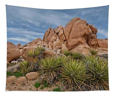 Gneiss Rock Formations Tapestry
