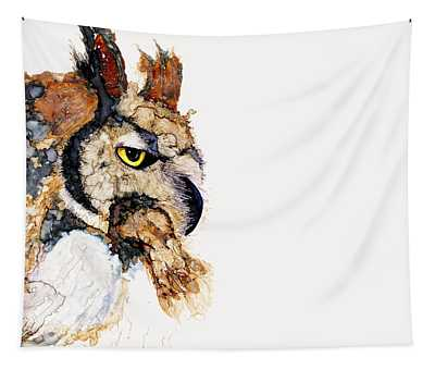 Great Hoot Tapestry