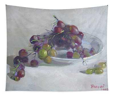 Greek Grapes Tapestry