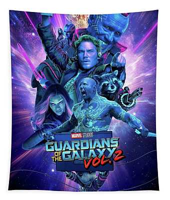 Guardians Of The Galaxy Vol.2 Tapestry