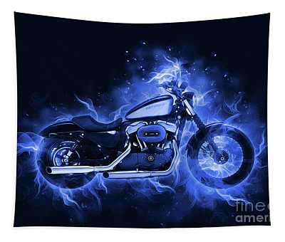 Harley Davidson Sportster Tapestry