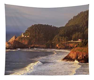 Heceta Head Lighthouse Tapestry