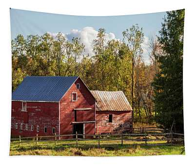 Hudson Valley Ny Countryside Tapestry