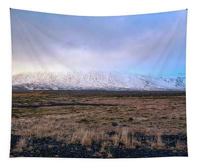 Icelandic Landscape Tapestry