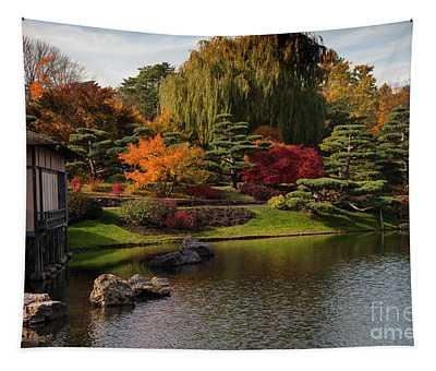 Japanese Gardens Tapestry