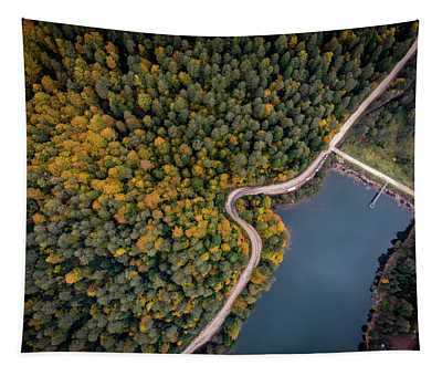 Lakeside Road Tapestry
