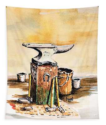Lee's Anvil Tapestry