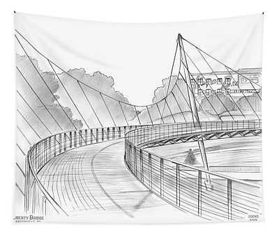 Liberty Bridge Tapestry