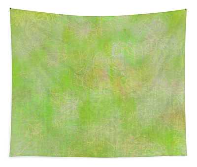 Lime Batik Print Tapestry