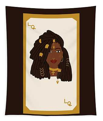 Loc Queen Card Tapestry