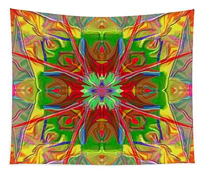 Mandala 12 8 2018 Tapestry