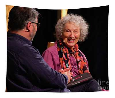 Margaret Atwood At The Hay Festival 2018 Tapestry