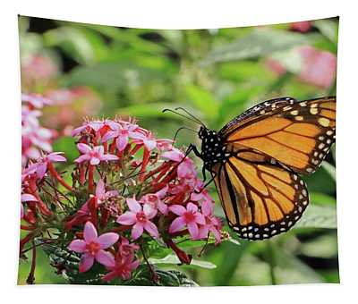 Monarch Butterfly Tapestry