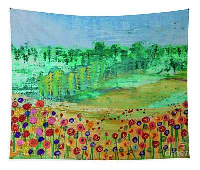 Mountain Meadow Tapestry
