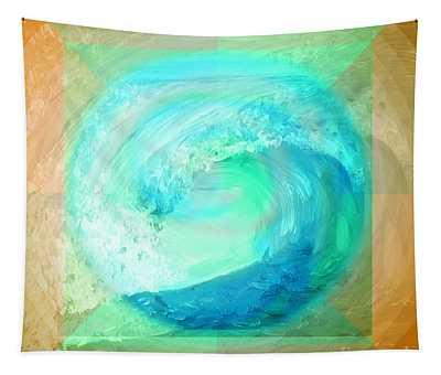 Ocean Earth Tapestry