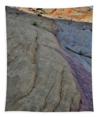 Pastel Colors In Valley Of Fire Tapestry