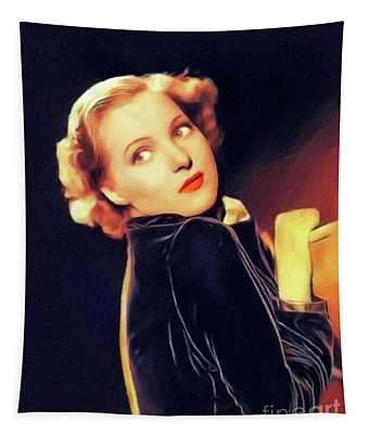 Pat Paterson, Vintage Actress Tapestry