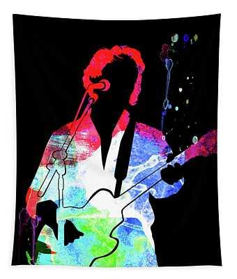 Paul Simon Watercolor Tapestry