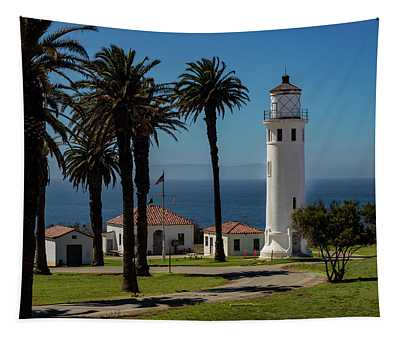 Point Vicente Lighthouse Tapestry