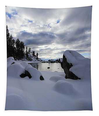 Pristine Winter  Tapestry