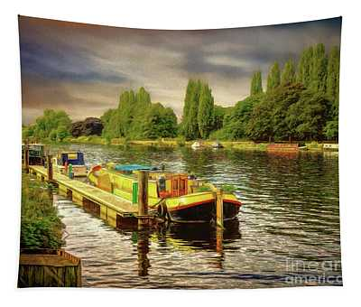 River Work Tapestry