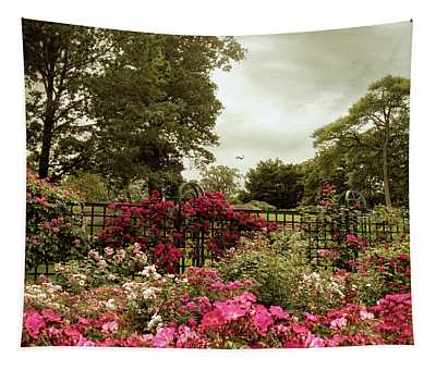 Trellis Photographs Wall Tapestries