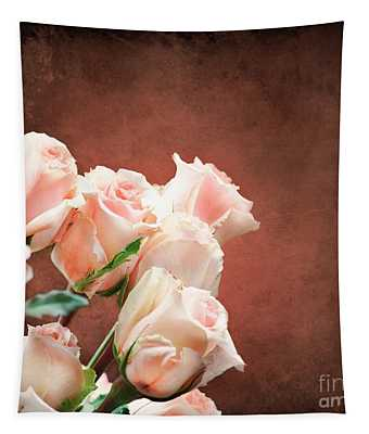 Roses Bouquet Tapestry