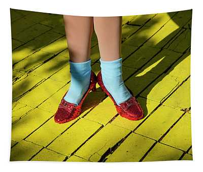Ruby Slippers Worn By Dorothy Gale Tapestry