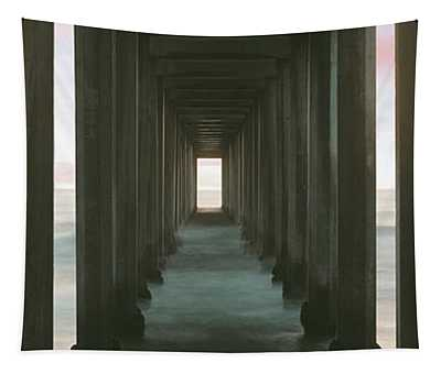 Scripps Pier Into The Pacific Ocean, La Tapestry