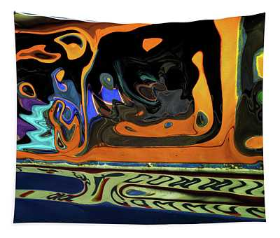 Senegal Bus Mindscape Tapestry