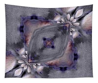 Shadow Abstract Art Tapestry