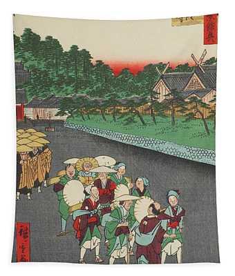 Shiba Shinmei Shrine Tapestry