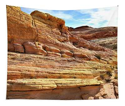 Ship Of Sandstone In Valley Of Fire Tapestry